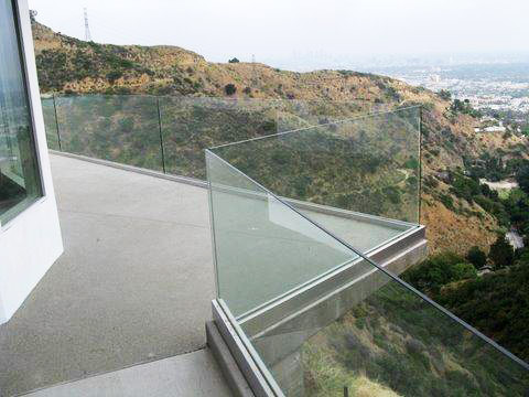 Clear Glass Pool Fence