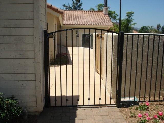 Custom Gates Barrett Southwest Fence